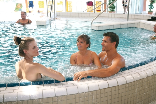 Whirlpool in der Lohengrin Therme