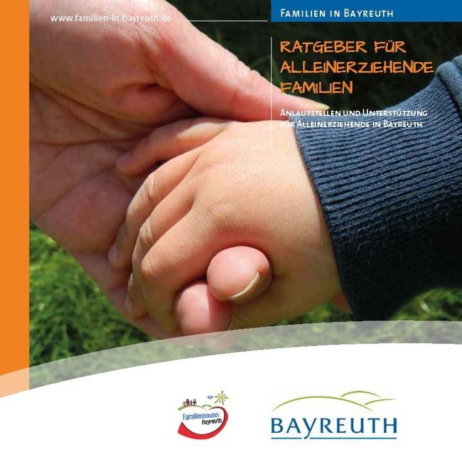 Titelseite des Ratgebers für Alleinerziehende