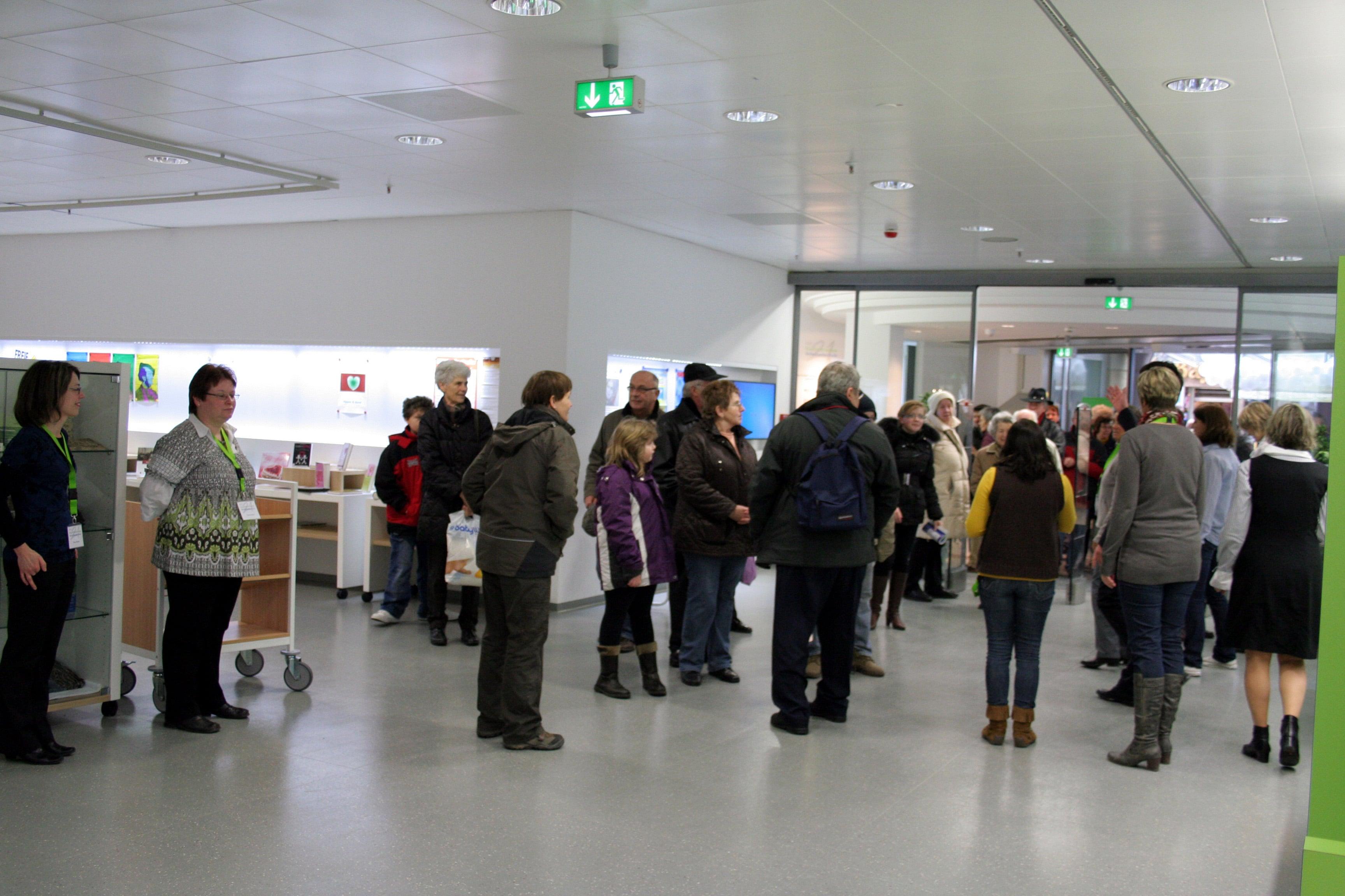 Tag der Offenen Tür im RW21-Stadtbibliothek &Volkshochschule Bayreuth am 11.2.&12.2.2011.