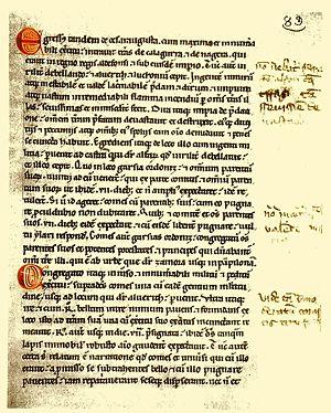 Historisches Schriftstück