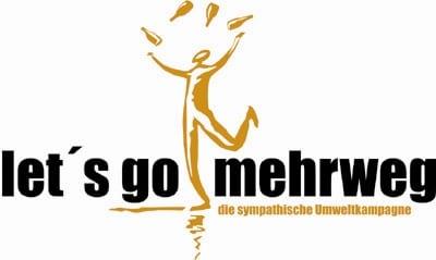 Logo Let's go mehrweg