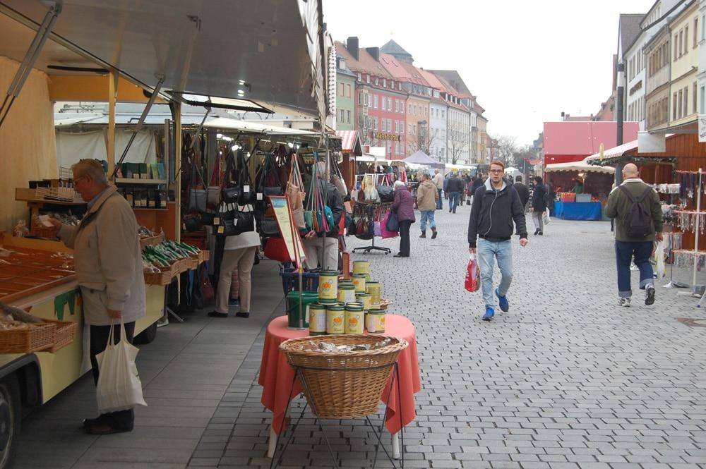 Blick auf den Martinimarkt