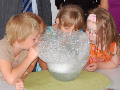 Haus der kleinen Forscher - MINT erleben schon im Kindergarten