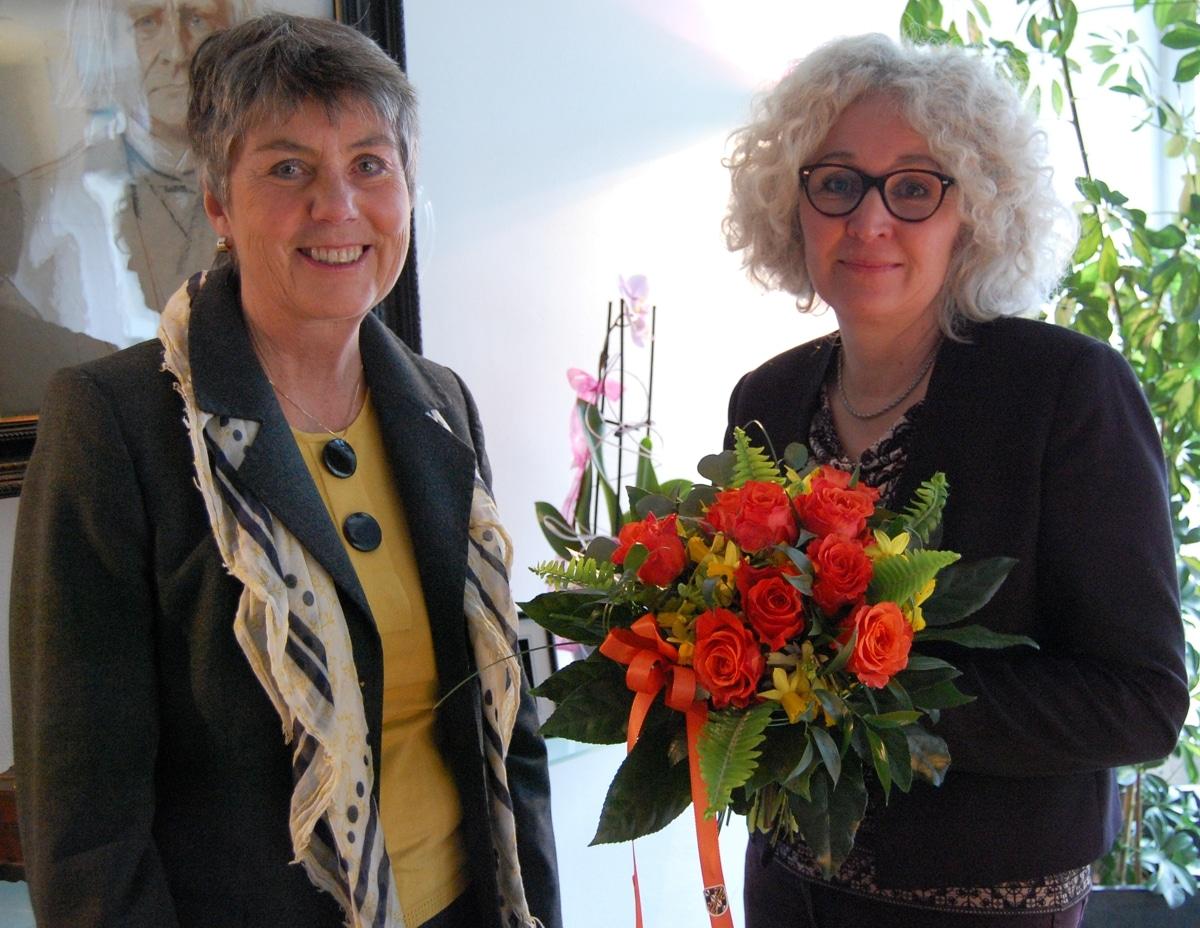 Die neue Stadtbaureferentin mit Oberbürgermeisterin