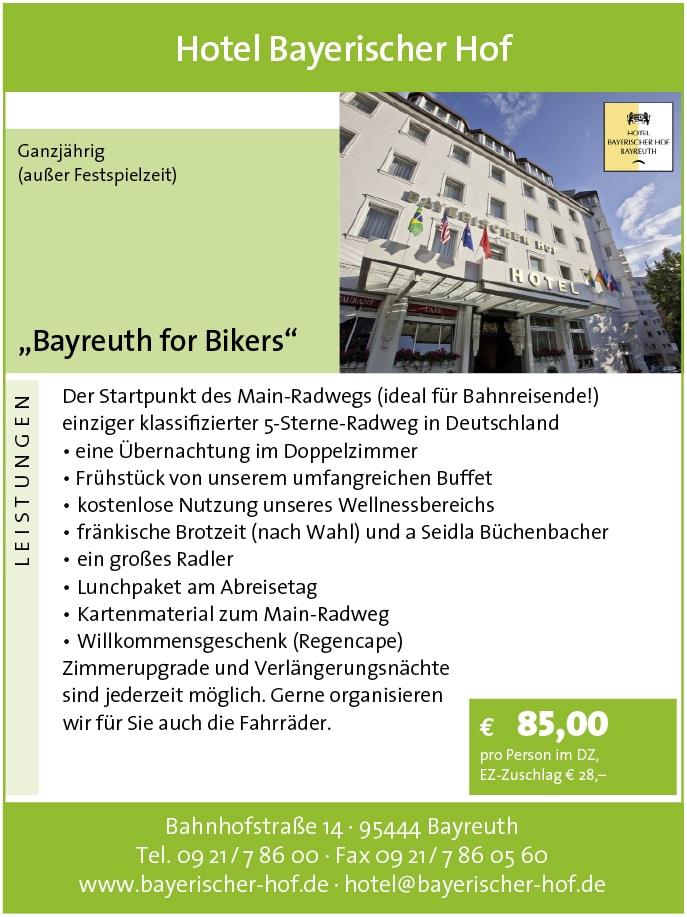 Angebot Bayerischer Hof