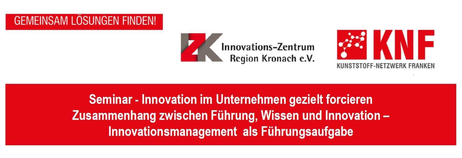 Seminar - Innovation im Unternehmen gezielt forcieren