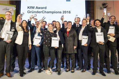 """KfW-Award """"GründerChampions"""""""