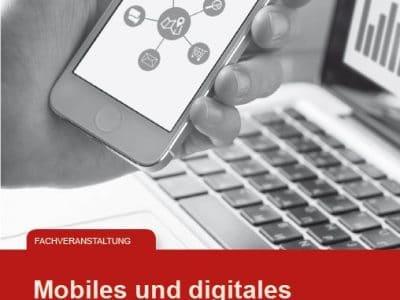 Flyer Digitales Arbeiten im Handwerk