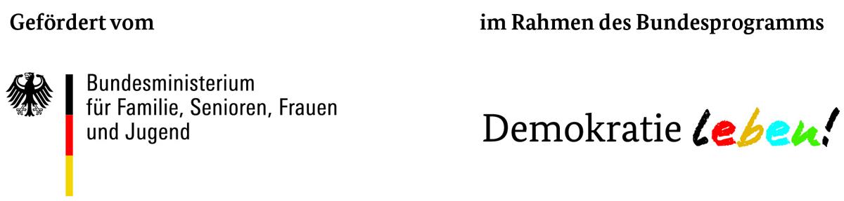 Demokratie leben-Logo des