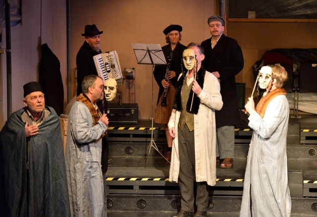 Szene aus einem Theaterstück