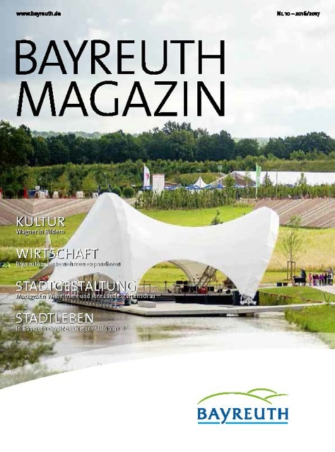 Cover Bayreuth-Magazin 2016