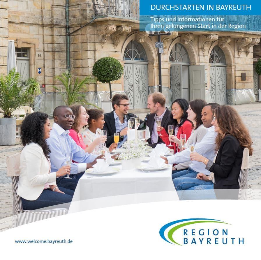 Durschstarten in Bayreuth - die Broschüre für Neubürger