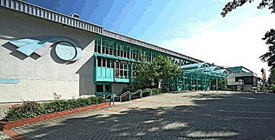 Blick auf die Oberfrankenhalle