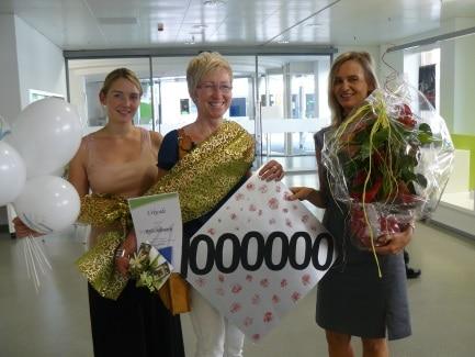 1.000.000ster Bibliotheksnutzer