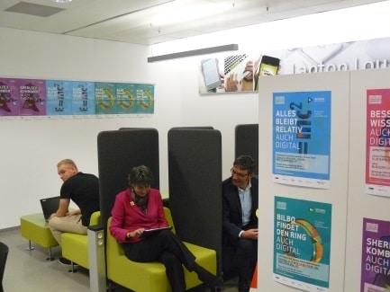 Laptop Lounge im RW21