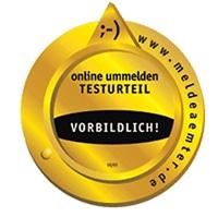 Logo Testurteil vorbildlich