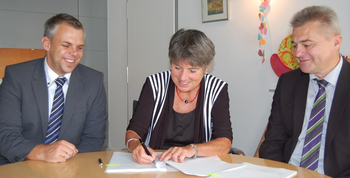 OB Merk-Erbe unterzeichnet Vertrag mit Telekom