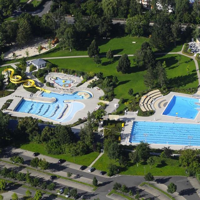 Luftbild des Kreutzsteinbades