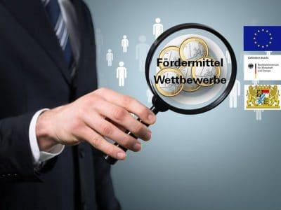 Die Wirtschaftsförderung informiert regelmäßig über Wettbewerbe und Förderprogramme