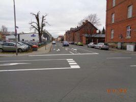 Straßenmarkierungen
