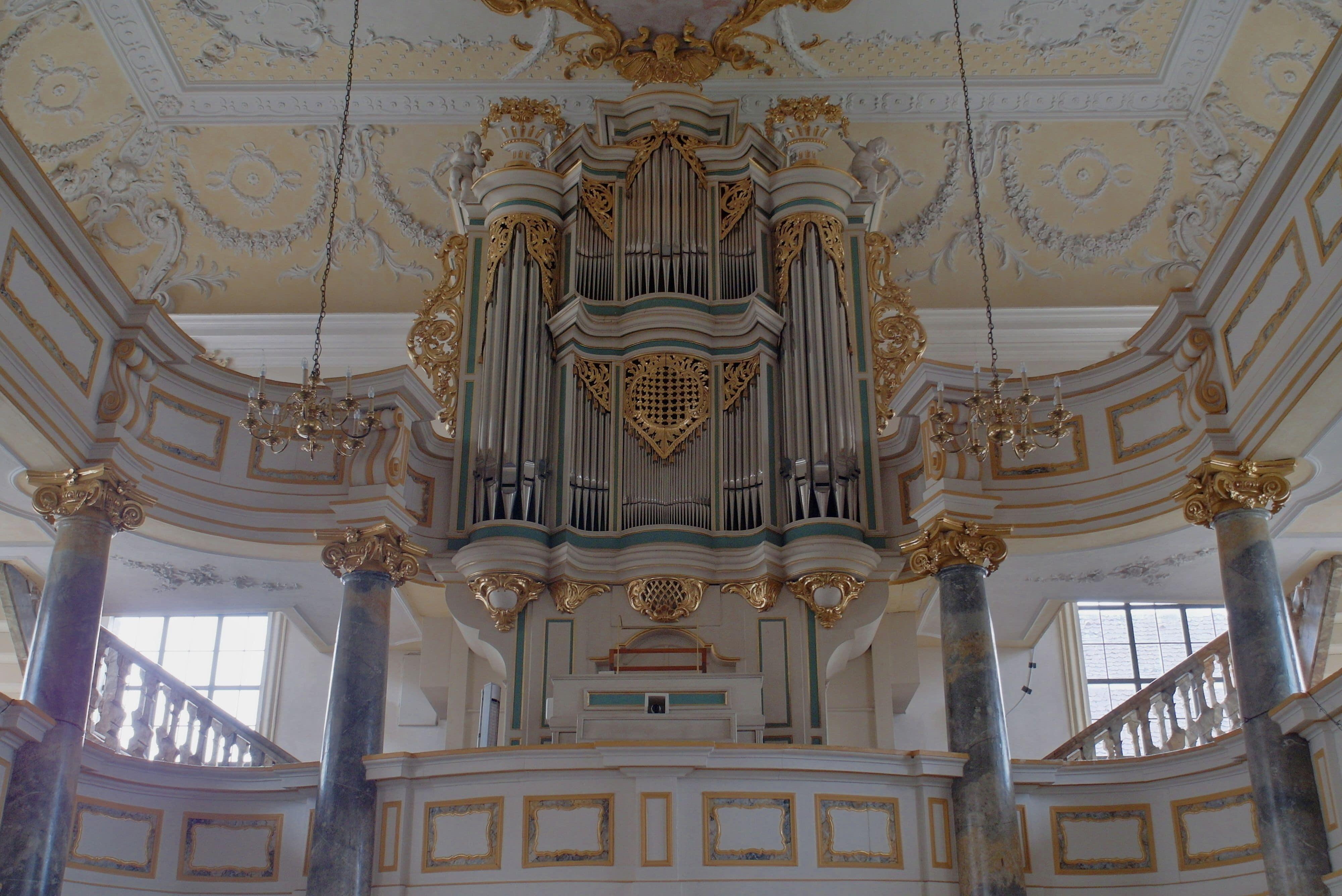 Bindlach Orgelemporen