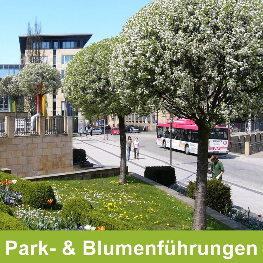 park- und Blumenführungen