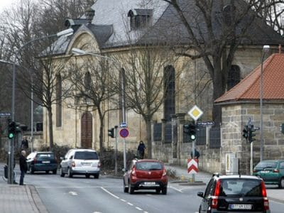 Blick in die Erlanger Straße