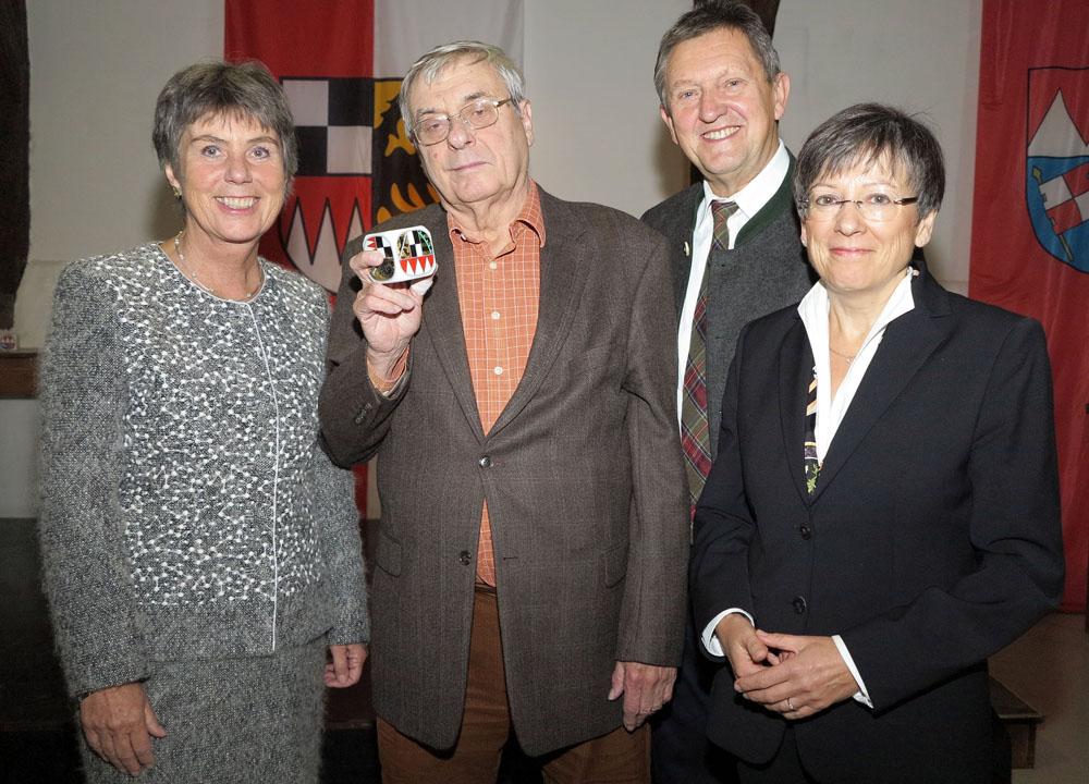 Dr. Eberhard Wagner mit Frankenwürfel geehrt - Bayreuth.de