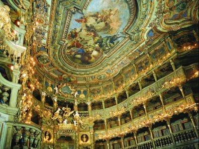 Markgräfliches Opernhaus Innenansicht