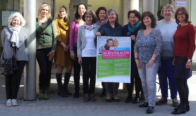 Die Organisatorinnen des Aktionsmonats