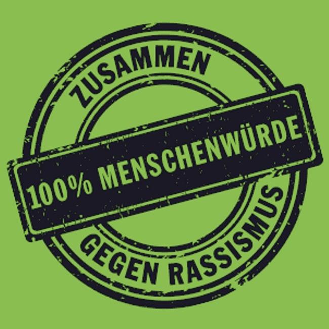 Logo 100 Prozent Menschenwürde