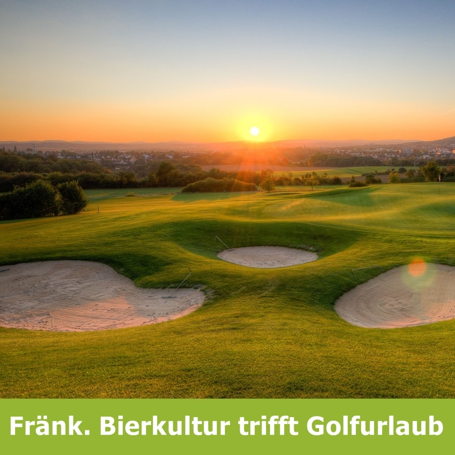 Fraenk Bierkultur trifft Golfurlaub