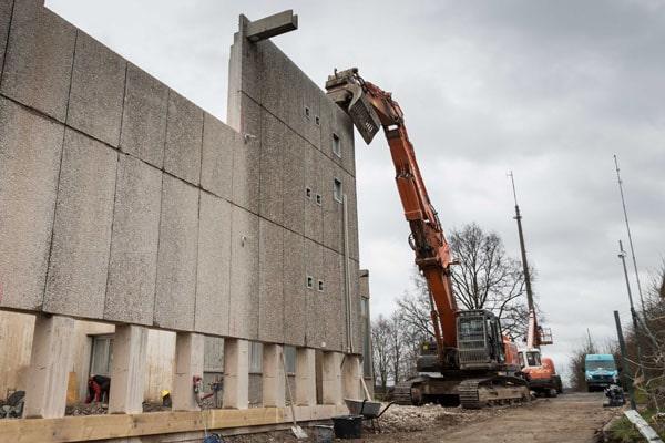 Sanierungsarbeiten am Wasserwerk Eichelberg