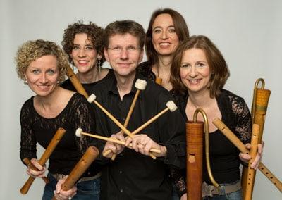 Blockflötenquartett Flautando aus Köln