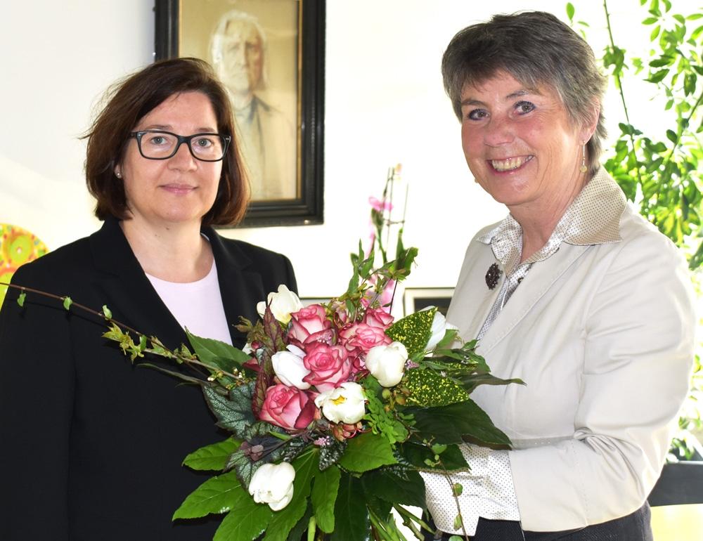OB Merk-Erbe begrüßt die neue Sozialreferentin