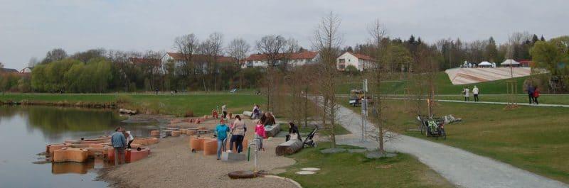 Eindrücke von der Einweihung der Wilhelminenaue