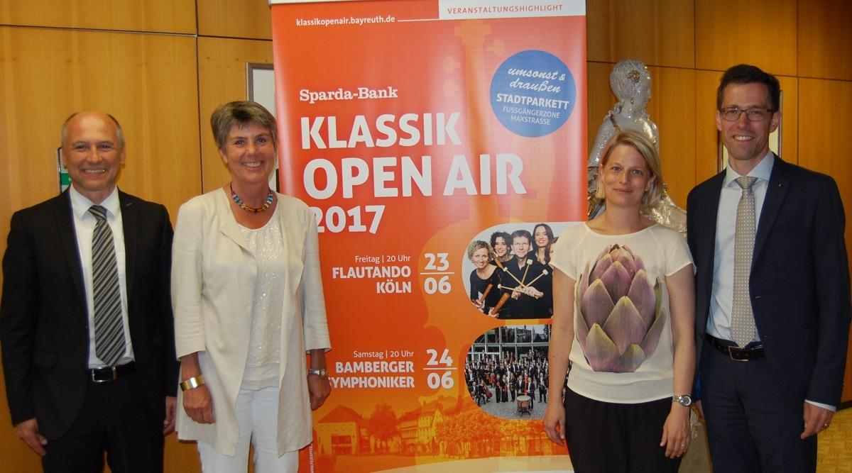 Vorstellung des Programms zum Sparda-Bank Klassik Open Air 2017