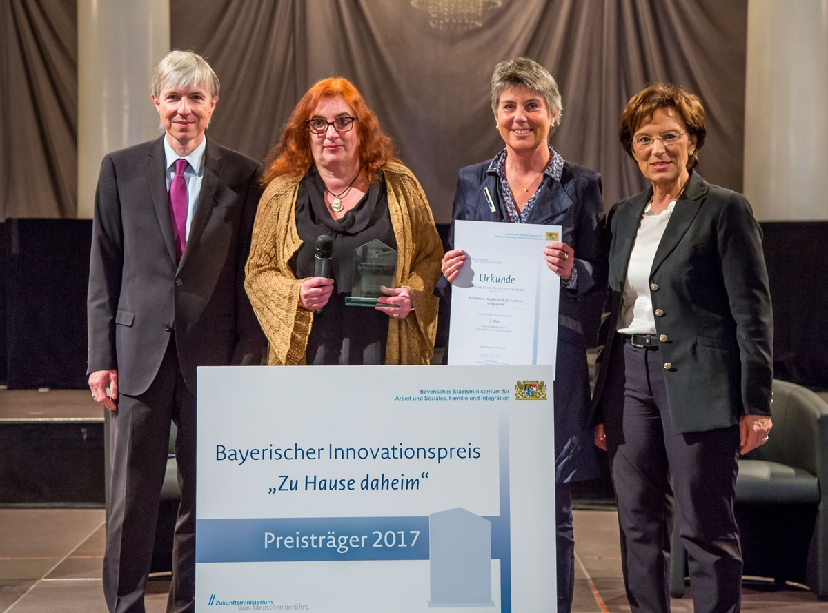 Preisverleihung in Regensburg