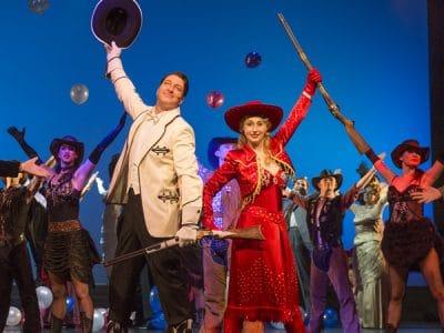 "Szene aus dem Musical ""Annie get your gun"""