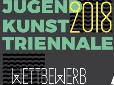 Logo JugendKunstTriennale 2018