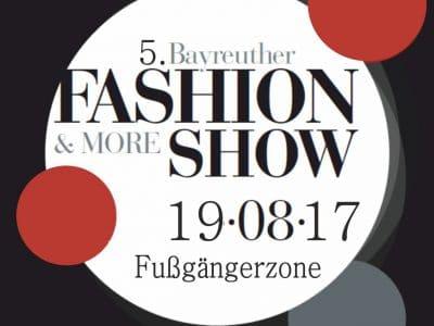 Logo der 5. Bayreuther Fashion Show