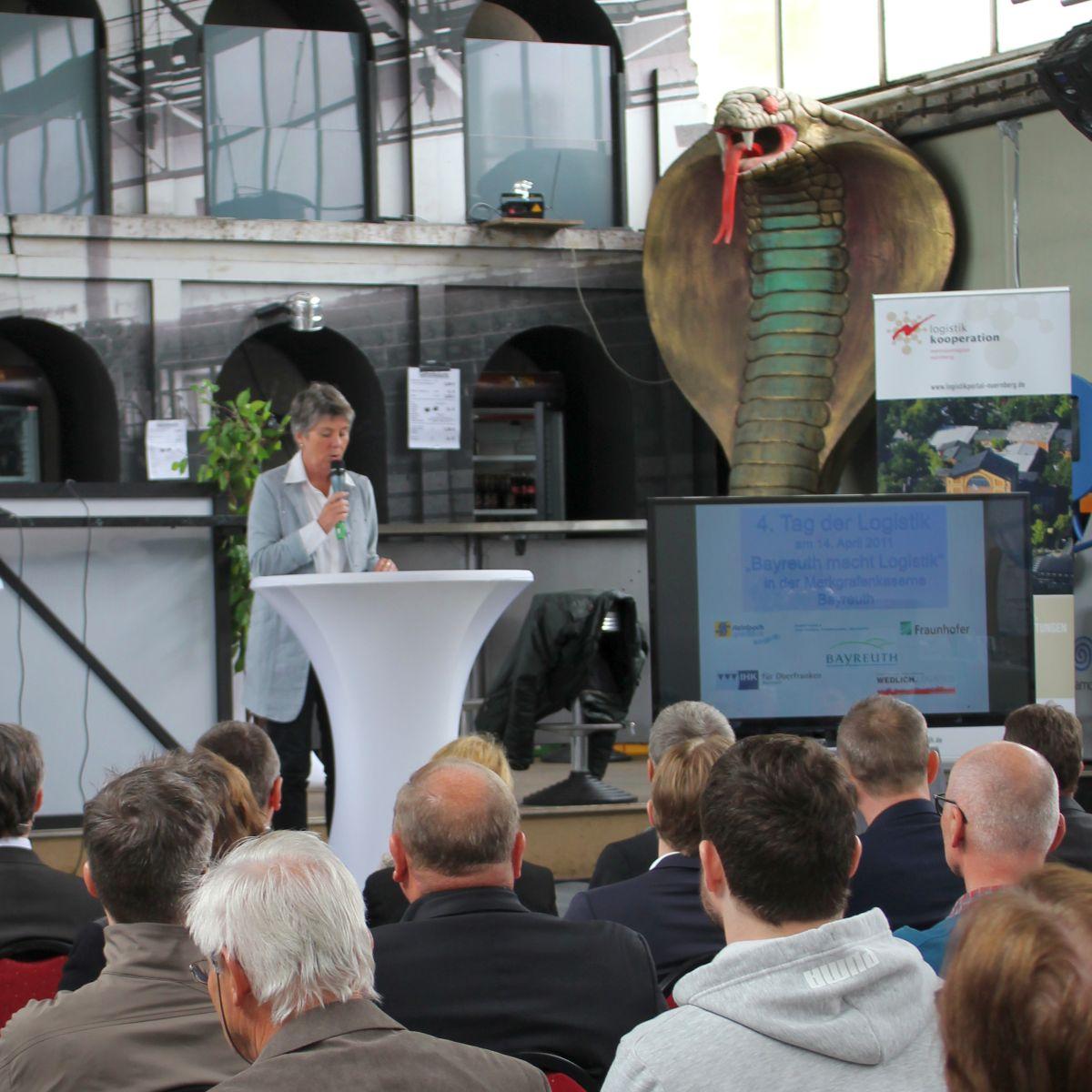 Begrüßung durch Oberbürgermeisterin Brigitte Merk-Erbe