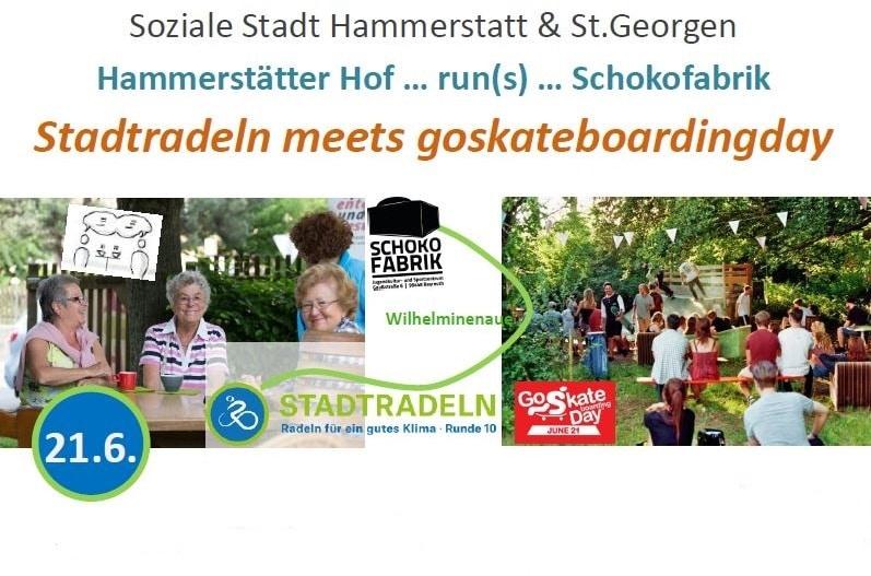 """Plakatkopf für die Bayreuther Aktion """"Stadtradeln"""""""