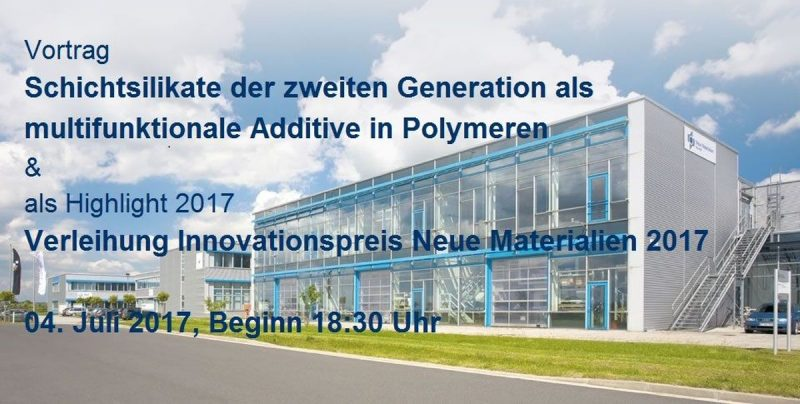 Innovationspreis Neue Materialen 2017