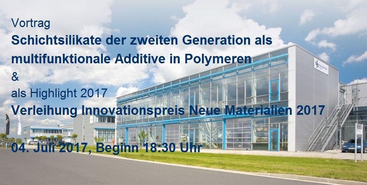 Innovationspreis Neue Materialen 2017