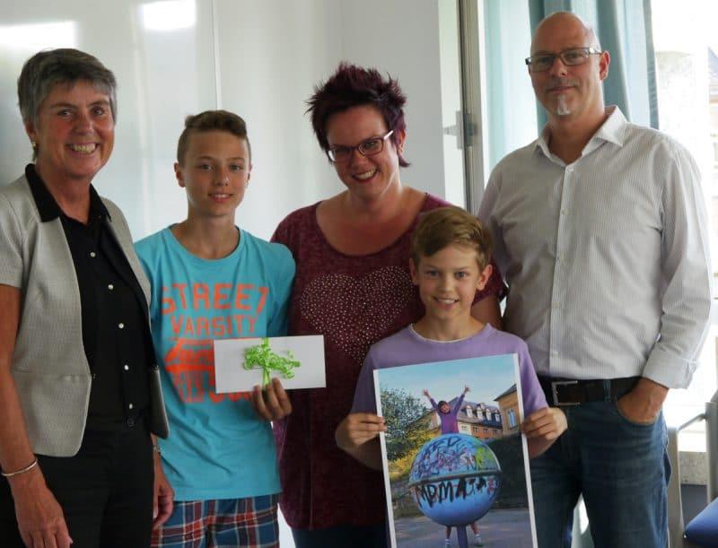 Preisverleihung Familien-Fotowettbewerb
