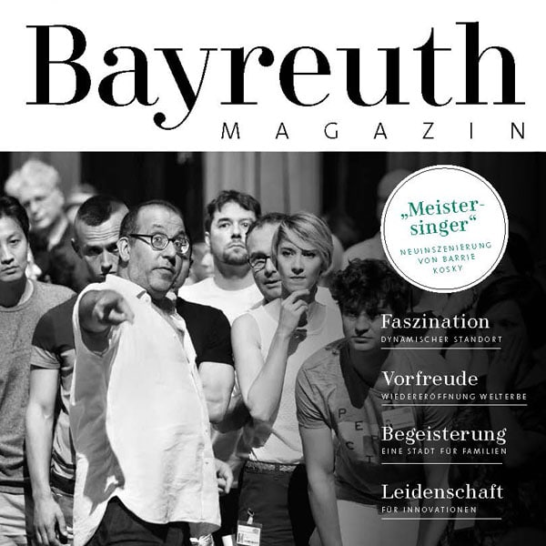 Cover des Bayreuth Magazins 2017/2018