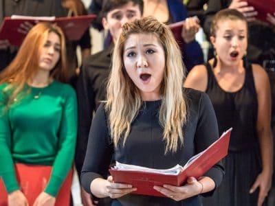 Singender Chor. Foto: Festival junger Künstler