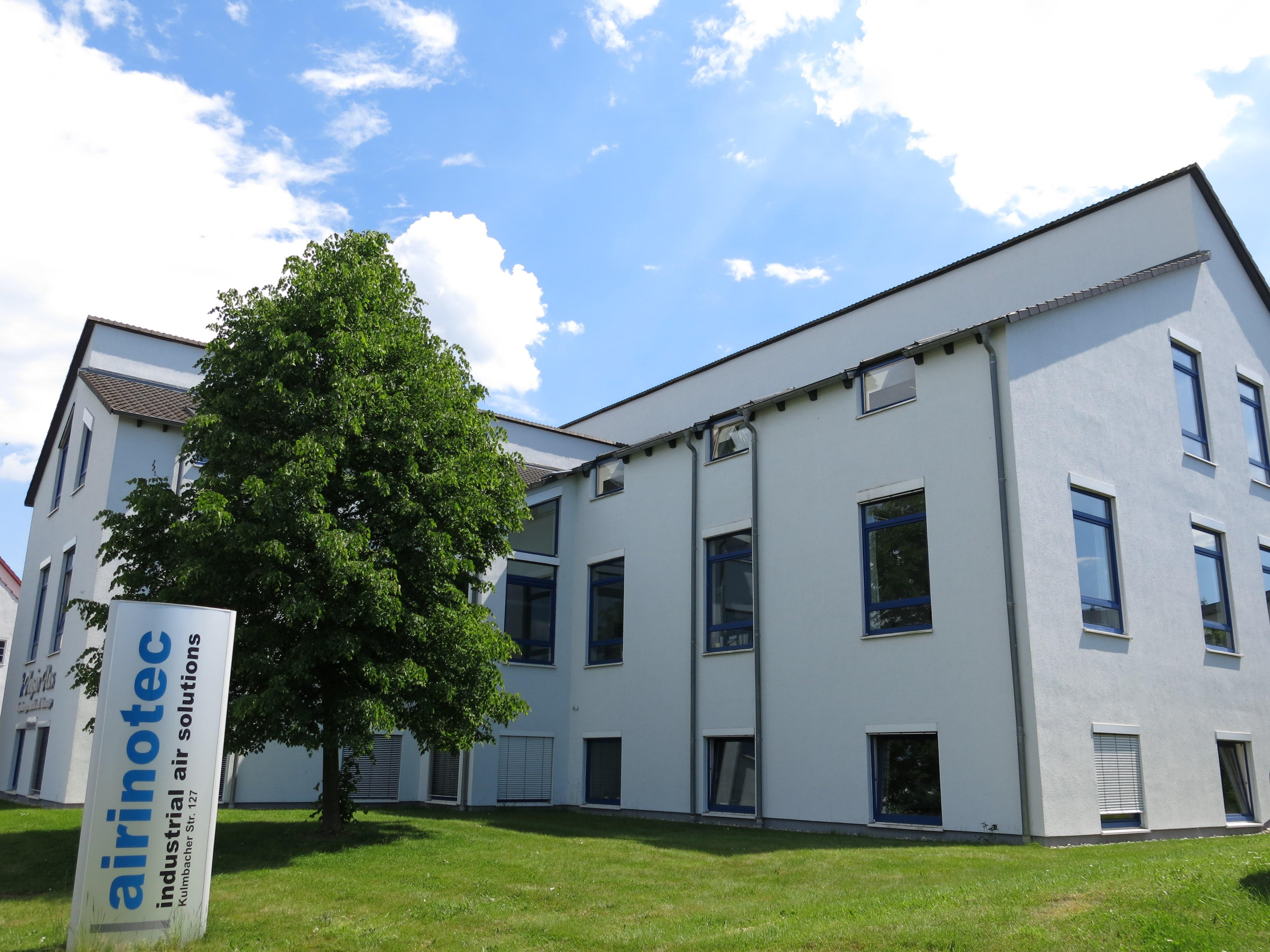 Firmensitz in der Kulmbacher Straße
