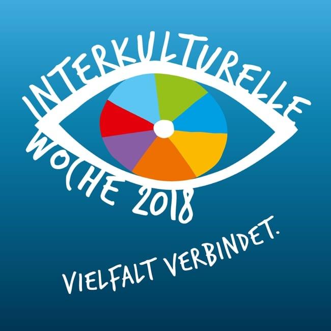 Logo der Interkulturellen Woche 2018